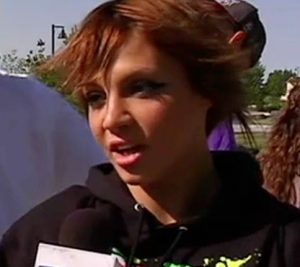 American Idol auditions season 12 with Lillian Richardson Cage Fighter