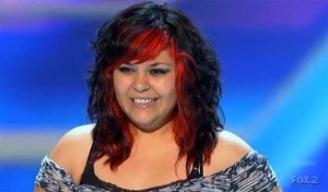 X Factor USA audition by Jessica Espinoza sings No Body Knows