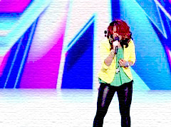 15 year old Dinah Jane Hansen sings If I were a boy on X Factor USA audition