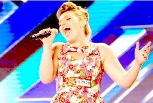 Ella Henderson sings 'I won't let you go' by Jason Mraz