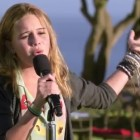 Beatrice Miller sings 'Titanium' by David Guetta - X Factor USA judges houses