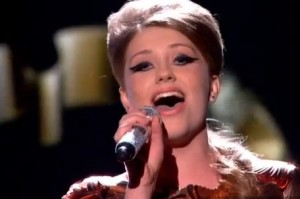 "Ella Henderson sings ""Loving You"" by Minnie Ripperton in X Factor UK live"