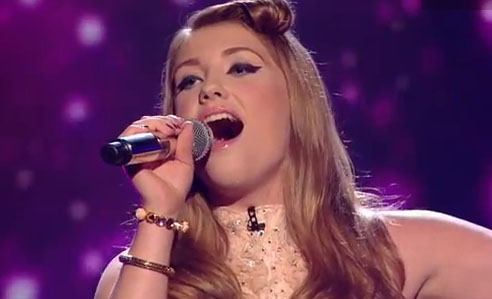 Ella Henderson X Factor UK Live Rule The World