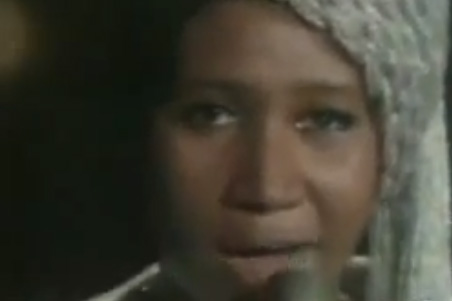 """I say a little prayer"" lyrics by Aretha Franklin"