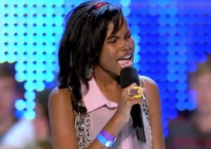 "Diamond White kills it with ""I have nothing"" in X Factor bootcamp"