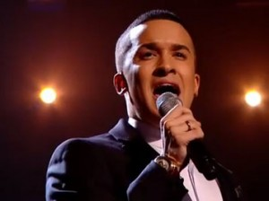 "Jahmene Douglas sings John Lennon's ""Imagine"" on X Factor UK live shows"