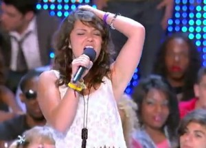 Jennel Garcia sings Sweeter in X Factor USA bootcamp