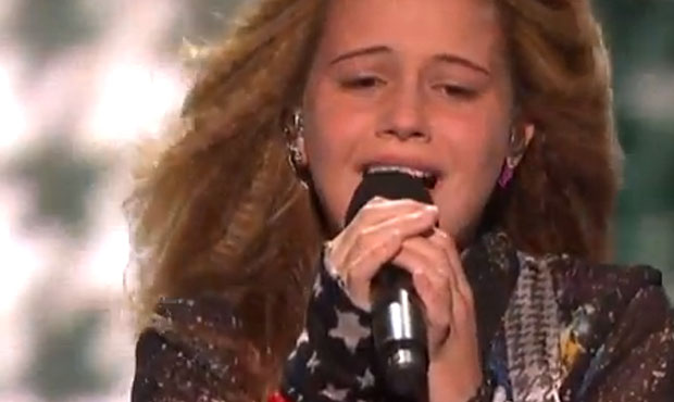 Beatrice Miller sings I wont give up by Jason Mraz on X Factor live