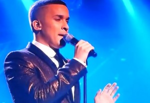 Jahmene Douglas sings Angels by Robbie Williams on X Factor UK live week 6