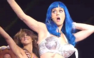 Katy Perry performs California Girls live