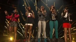 1432 (formerly LYLAS) sing Skyscraper by Demi Lovato on X Factor USA live week 1 survival